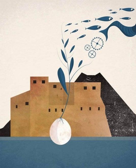 """""""N'Ovo"""": ecco il logo per i 100 anni dell'unione industriali di Napoli"""