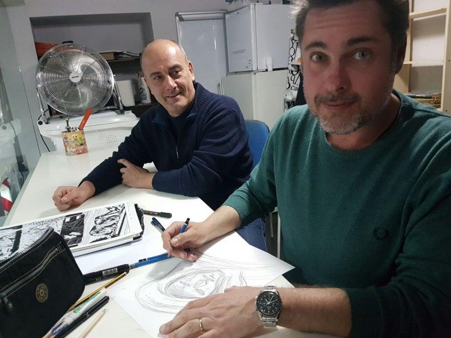 Lorenzo Ruggiero allo Star Comics Store
