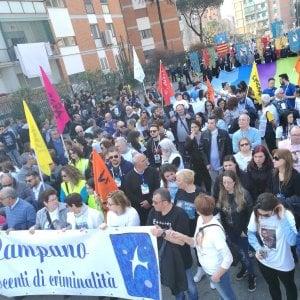 Ponticelli, in trentamila alla marcia anticamorra