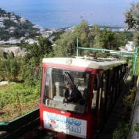Capri abbatte le barriere: funicolare a misura di disabili