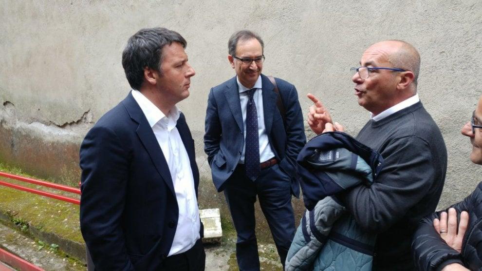 La visita di Renzi al Rione Sanità
