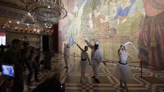 Picasso a Capodimonte, allestimento show per la gigantesca