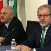 De Luca e Maroni firmano l'intesa: