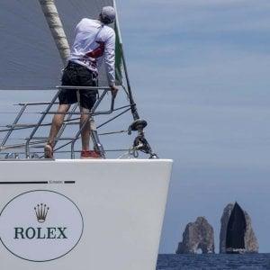 Rolex Capri sailing week: 100 barche al via