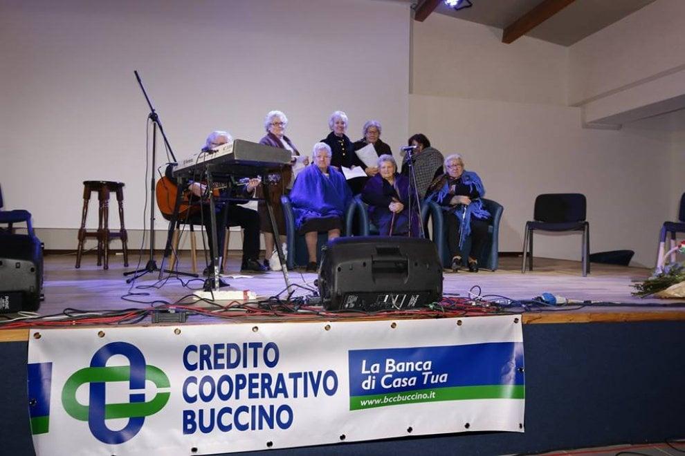Buccino, ultraottantenni in coro per le antiche canzoni popolari