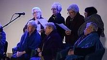 Ultraottantenni in coro per le antiche tradizioni