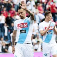 Napoli, Hamsik si scusa per l'errore commesso contro il Sassuolo