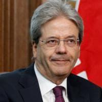 Il premier Gentiloni in visita a Benevento