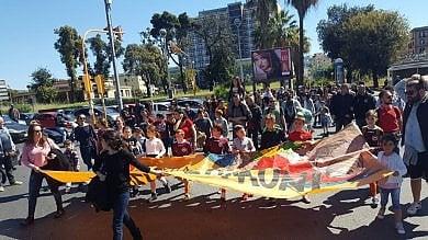 Partite di pallone e musica, i movimenti festeggiano alla Mostra d'Oltremare     /Foto