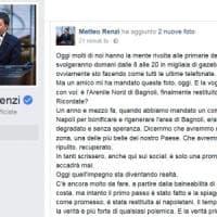 Renzi su Facebook:
