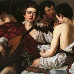 Lo sguardo pieno di Caravaggio