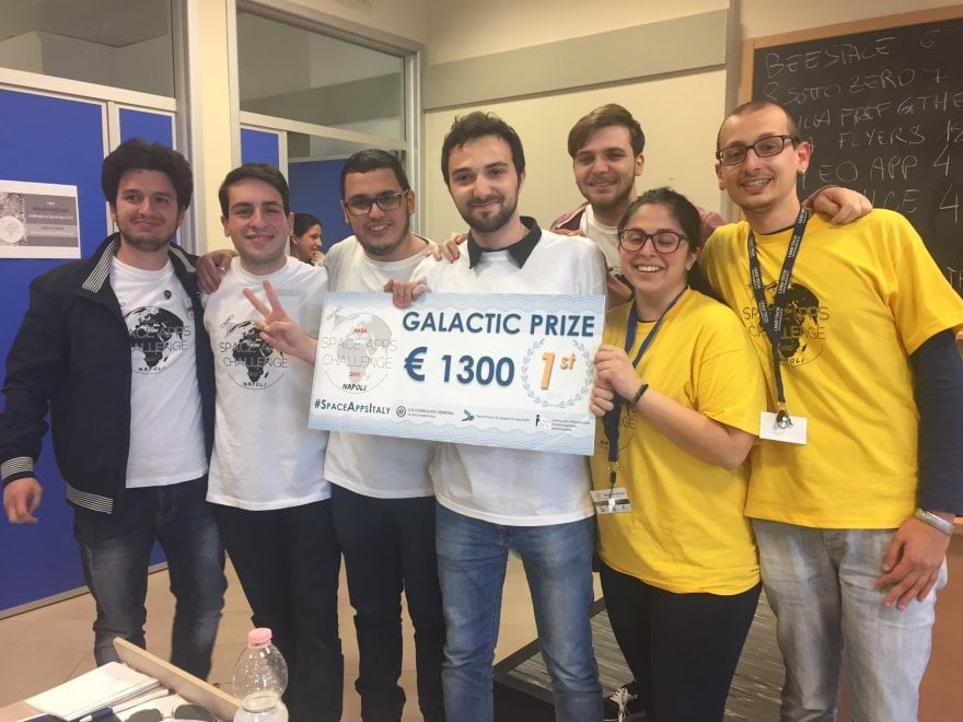 "Nasa Space Apps, vincono i ""Pizza Flyers"" dell'Apple Academy"