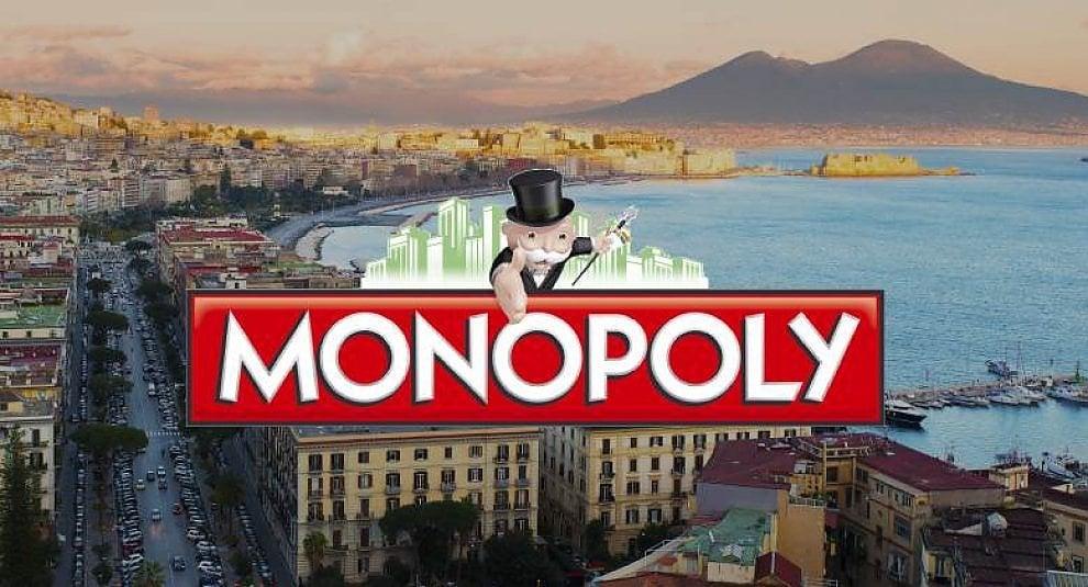 Napoli diventa tabellone di Monopoly