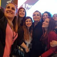 Cristina Donadio al festival di