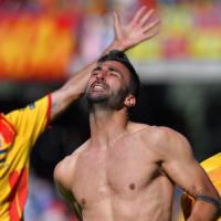 Benevento - Frosinone 2-1, al 93' il gol di Ceravolo apre la porta ai play-off