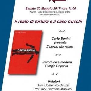 Napoli, incontro con Carlo Bonini sul caso Cucchi e il reato di tortura