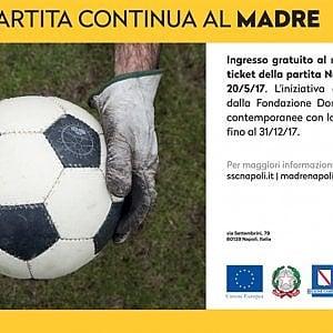 Museo Madre, ingresso gratuito per chi ha acquistato il biglietto di Napoli-Fiorentina