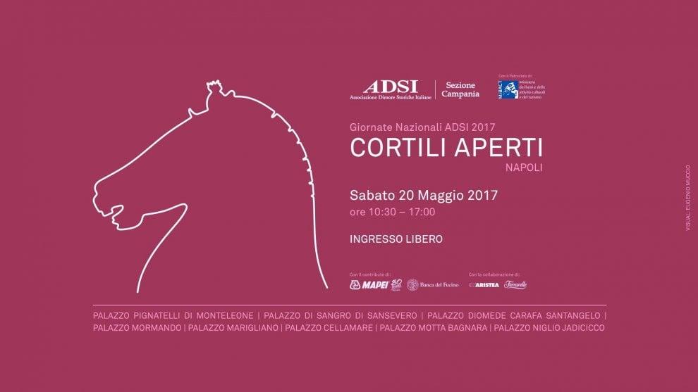 """A Napoli torna l'appuntamento con """"Cortili aperti"""""""