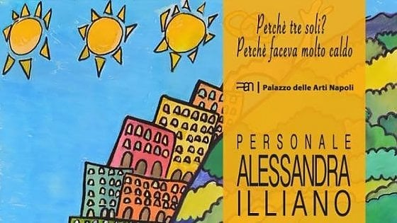 Alessandra Illiano, la mostra al Pan