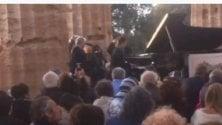 Il direttore di Paestum suona Chopin