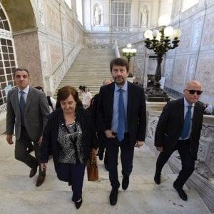 "Franceschini alle Biblioteca dei Girolamini: ""Presto mille assunzione nei beni culturali"""