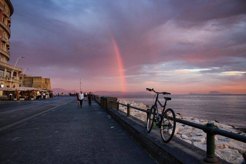 Estremamente Napoli è mille colori: tramonto sul mare - 1 di 1 - Napoli  YP89