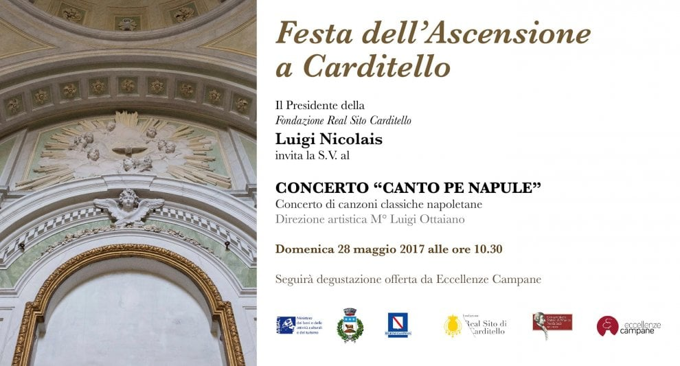 Weekend a Carditello - 27 maggio 'Dialoghi di Carditello', 28 maggio concerto 'Canto pe Napule'