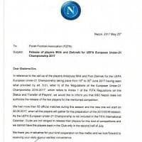Il Napoli scrive alla federazione polacca: Milik e Zielinski non parteciperanno