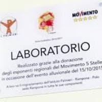 Benevento, fondi a una scuola dai Cinque Stelle: spunta una targa con il simbolo del Movimento