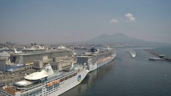 Universiadi 2019 a Napoli: il villaggio degli atleti su 4 navi da crociera