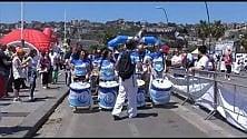 A Napoli si balla il samba     Le foto delle danze