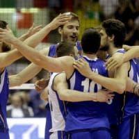 Volley: Palabarbuto in festa per gli azzurri, sconfitta l'Argentina