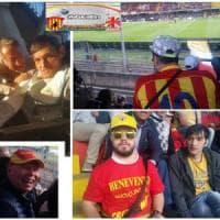 """Benevento, allo stadio tra disabili e rifugiati: """"Il nostro calcio? Solo"""