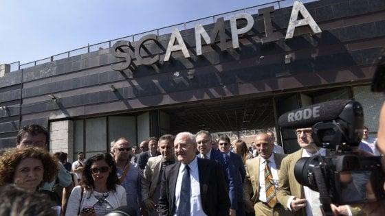 """De Luca: """"Per Scampia-Aversa investiremo 53 milioni in tre anni e raddoppieremo videosorveglianza"""""""