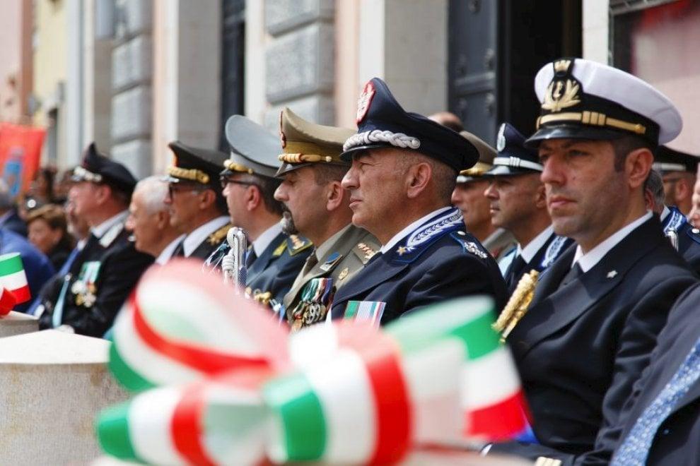 Potenza, in piazza Mario Pagano la cerimonia della festa della Repubblica