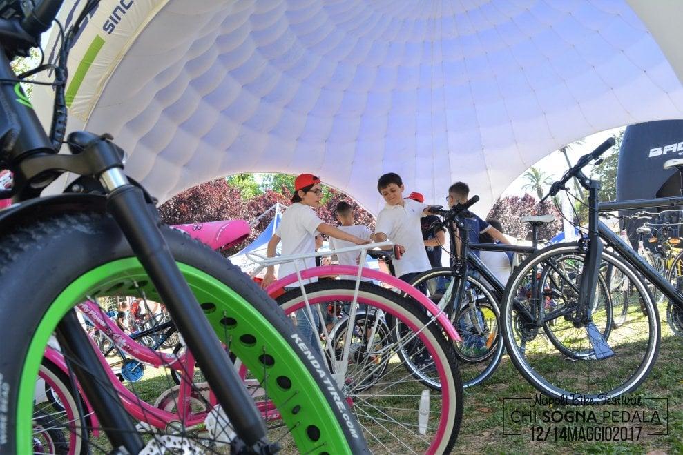 """Napoli bike festival, un sogno si è avverato: """"Grazie a tutti"""""""