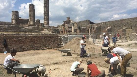 Pompei otto cantieri di scavo maxi indagine nel sito for Sito repubblica