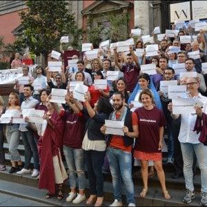 Mann, flash mob per Giulierini. E l'ex direttore ringrazia su Facebook