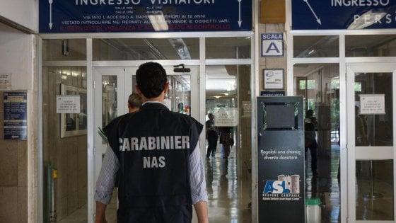 Formiche e appalti in ospedale: nuovo blitz dei Nas all'ospedale San Paolo