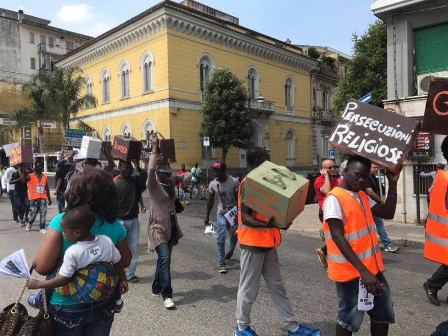 "Caserta, 6 mila persone in marcia per lo ""Ius soli"""