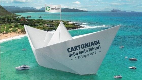 Rifiuti sulle isole, Ischia e Procida partecipano alle Cartoniadi