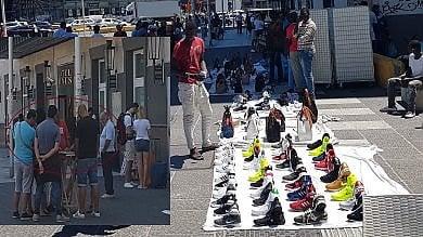Piazza Garibaldi, tra discariche e abusivi