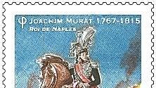 Un francobollo in Francia per Murat, re di Napoli