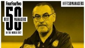 Per la rivista Four Four Two, Maurizio Sarri è il quattordicesimo allenatore al mondo