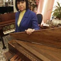 Il pianoforte a cristalli ritrovato nei depositi del consevatorio a San Pietro a Maiella
