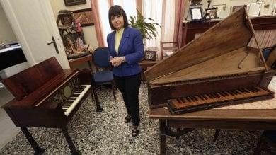 """Conservatorio, restaurato il piano  a cristalli: """"Ce ne sono tre al mondo""""    ft -      vd"""