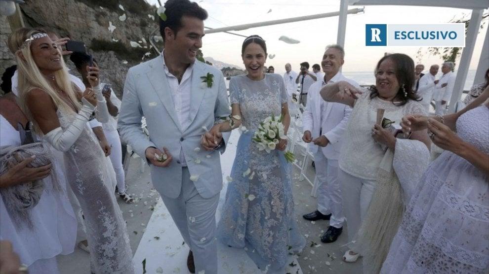 Massa Lubrense, il matrimonio di lusso di Noemi Letizia