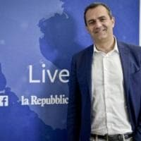 De Magistris live in redazione all'indomani delle amministrative