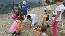 Potenza, venti bambini in viaggio nel tempo alla scoperta della Val Camastra