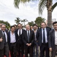 Giugliano, De Luca e Mogol inaugurano il Pareo Park